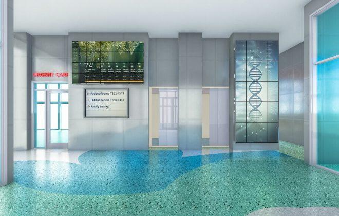 DCL Niagara medical condo lobby