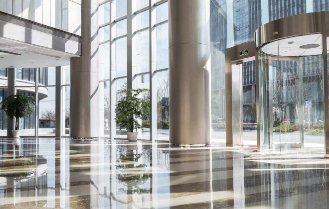 DCL medical condo floor lobby